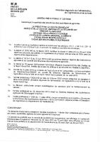 Autorisation préalable d'exploiter FERME DES ANTES