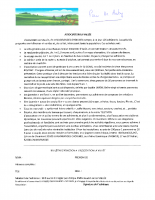 Bulletin d'adhésion de l'association